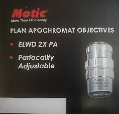 Motic Psm-1000 Objective - Plan Apochromat Elwd 2x Pa For Psm1000 1101001700141
