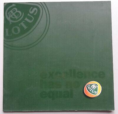 V16497 LOTUS ESPRIT S300 - CATALOGUE - NON DATE - 24x24 - IT