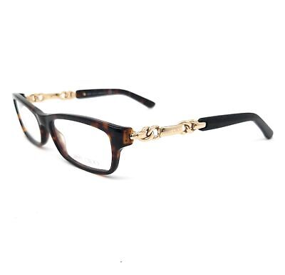JIMMY CHOO Eyeglasses 85 8Q2 Havana-Rose Gold Women 51x16x135
