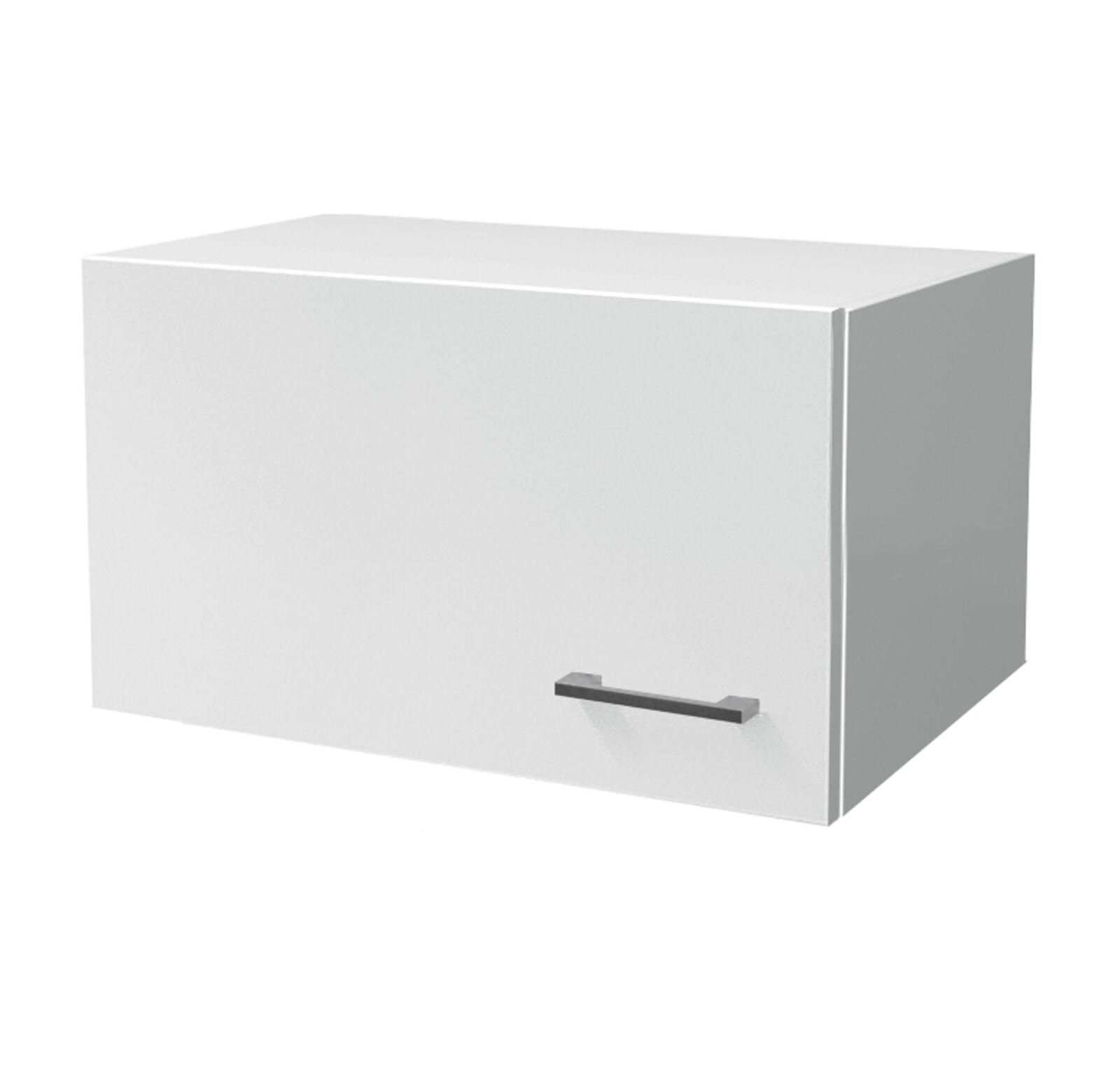 Küchen-Kurzhänger LUCCA Dunsthänger Dunsthängeschrank Küchenschrank 60 cm weiss