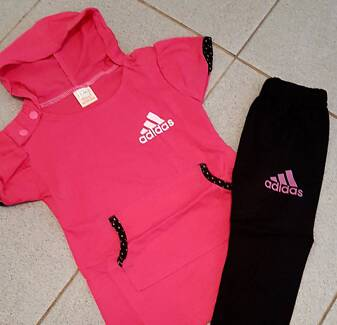 Baby girls sporting sets