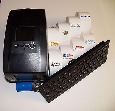 Oil Change Sticker Printer Service Reminder Printing