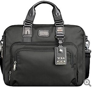 NWT TUMI Yuma Slim Brief - Black