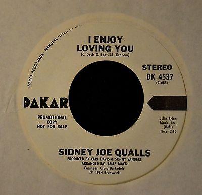 Sidney Joe Qualls Dakar DJ 4537 I Enjoy Loving You
