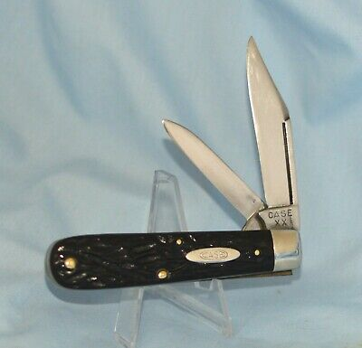 RARE VINTAGE CASE XX ROUGH BLACK JACK KNIFE 62031 1/2 LP 1940-48