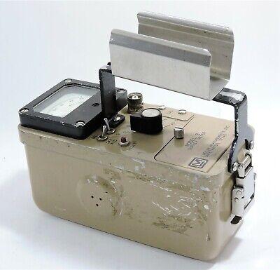 Ludlum Measurements Survey Meter Model 3 Serial 110995