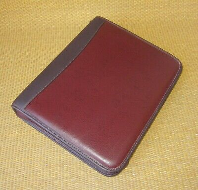Classic Franklin Coveyquest Burgundy Faux Leather 1.5 Rings Plannerbinder