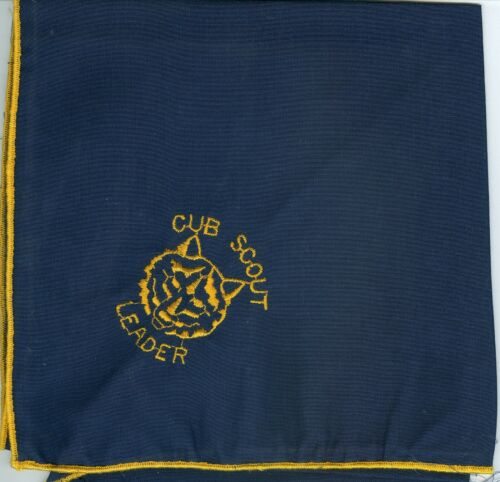 MINT Cub Scouts Embroidered Leader Neckerchief