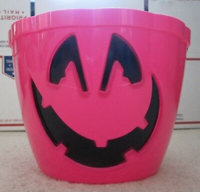 T-Mobile Halloween Candy Bucket Jack-o-Lantern LED Lights Holiday Magenta Black](Halloween Candy Buckets)