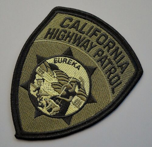 California Highway Patrol Subdued Patch ++ Mint CA