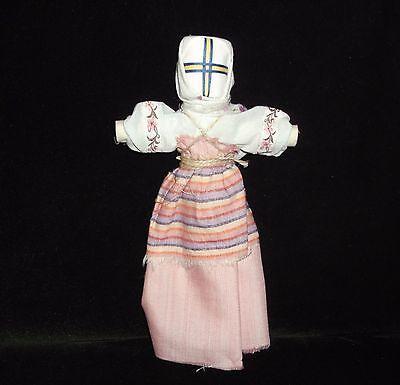 """Handmade Scythian-Sarmats-Slavic Charm-Amulet Big Doll Motanka """"Family Welfare"""""""