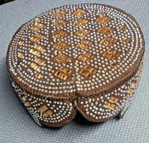 Sindhi Balochi Mens Hat/Cap/Kufi/Topi Hat Pakistan [Gift for Family members]