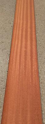 Ribbon Sapele Wood Veneer 6 Sheets 40 X 5.5 9 Sq Ft