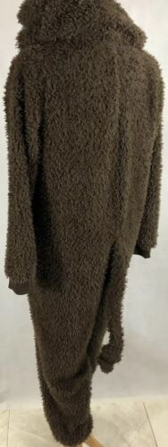 Secret Treasures Monkey Sleepwear One Piece Costume Pajama Brown XLarge EUC - $23.99