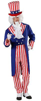 Uncle Sam Herrenkostüm NEU - Herren Karneval Fasching Verkleidung Kostüm