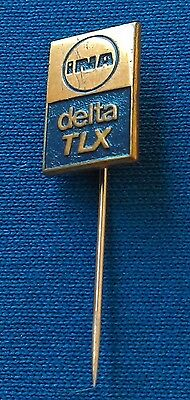 Ina Delta Tlx   Fuel  Gas  Olie  Motor Oil  Croatia Ex Yugoslavia  Vintage Badge