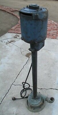 Vintage Deming Vertical Pump - Deming Model 4554 From 1950s Or 1960s Rare