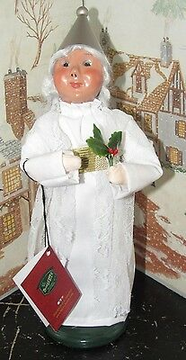 Byers Choice Caroler A Xmas Carol Ghost Spirit of Christmas Past with Tag * ()