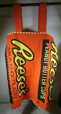 Vintage Reese's Peanut Butter Cups Dress Halloween Costume