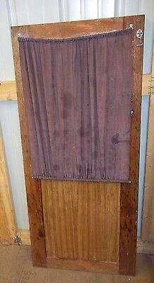 Door Cuddy Cabin Galley Wood 49 25  Door W  Glass Top   Curtain Cover
