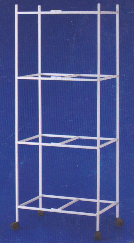 """4-Tiers Rolling Stand for 24""""x16""""x16"""" Aviary Bird Flight Breeding Cages"""