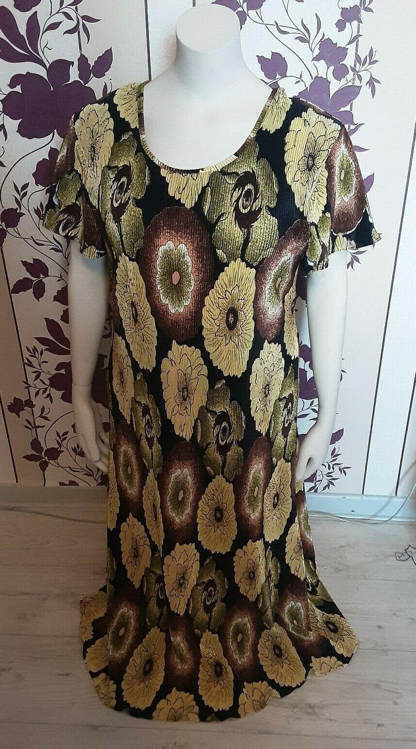 Damen Sommer Kleid 48/50 .Top Zustand .MADE in Italiy .