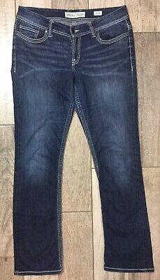 BKE Payton Womens Bootcut Stretch Jeans Sz 33XL Extra Long 35.5 Inseam Dark Wash