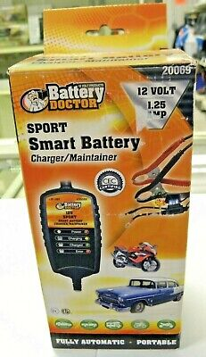 Battery Doctor 20069 Smart Sport Battery Charger & Maintainer 12 Volt 1.25 Amp