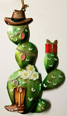Prickley Pear Cactus Cowboy Southwestern Christmas Tree Ornament or Gift ()