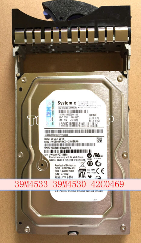 1PC LENOVO 39M4533 39M4530 42C0469 Server Hard Disk 3.5INCHES 16MB #XH