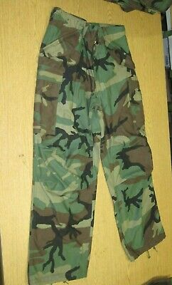 New GI Issue M65 Cargo Field Pants most sizes Woodland Camo Trouser Cold -