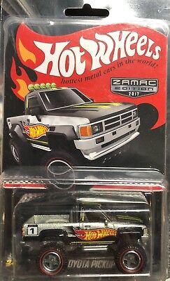 2017 Hot Wheels Collector edition Zamac edition 1987 Toyota Pickup NIP REAL 1:64