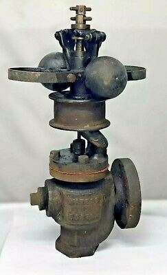 1-14 Waters Boston Vertical 2 Fly Ball Governor Steam Hit Miss Engine Cast Iron