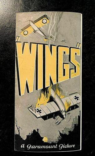 WINGS 1927 MOVIE HERALD - CLARA BOW, BUDDY ROGERS, RICHARD ARLEN