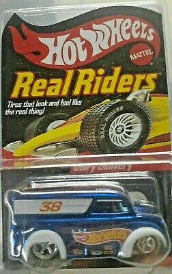 Hot Wheels Red Line Club Real Riders Blue Dairy Delivery#1785/11000 Mint New