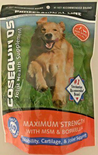 COSEQUIN DS Joint Health Supplement Maximum Strength Soft Chews 60 Soft Chews