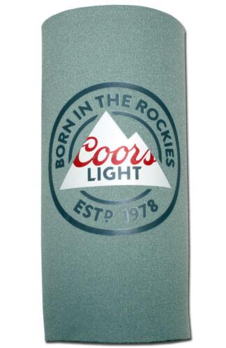 Coors Light (1) 24oz Beer Tallboy Koozie 25oz New Can Cooler Neoprene