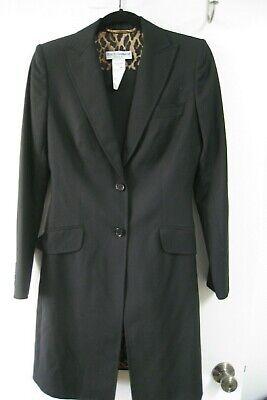 Dolce and Gabbana Womens Black Blazer / Pant Suit Size 40, Virgin Wool, (Dolce And Gabbana Womens Suits)