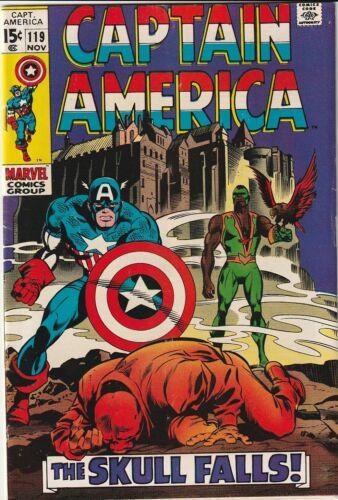 Captain America  #119  - Aug.1969 - 9.5 VF- One Owner Comic