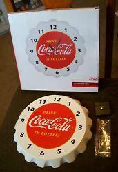 Sunbelt Marketing Coca Cola 3 - D Crown Wall Clock
