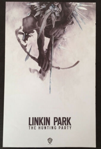 LINKIN PARK The Hunting Party Ltd Ed Discontinued RARE Poster