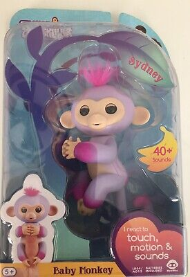 Fingerlings BABY MONKEY Sydney INTERACTIVE Toy.