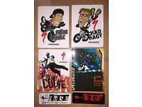 Specialized BMX Sticker Set 6-Pack Chad Kagy Allan Cooke FUSE X-GAMES Vert Ramp