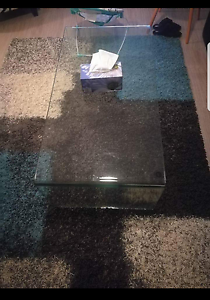 One peace glass coffee table. Corio Geelong City Preview