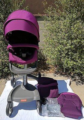 Stokke xplory stroller purple