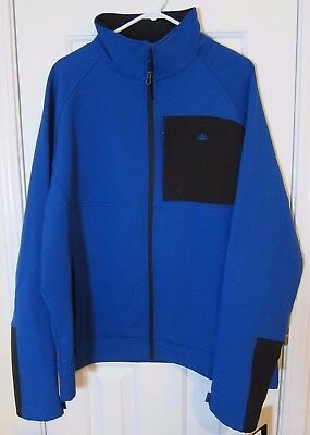 SNOZU Performance Outerwear Soft Shell Jacket Coat Bright Blue Men's XL  NEW - Performance Outerwear