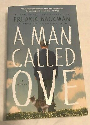 A MAN CALLED OVE By FREDRIK BACKMAN 2014 Ed SOFTBACK Lilke New
