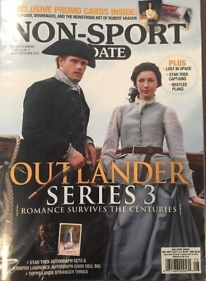Non-Sport Update, August/September 2018 Outlander Cover Edition, Volume 29, No.4