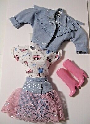 Barbie Cowgirl Outfit (Mattel ~ Barbie Doll ~  Cowgirl Outfit ~ De-Boxed ~ NEW ~)