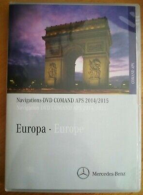 DVD MERCEDES COMAND APS 2015 EU NAVIGATION C Klasse W204 S204 BJ 03/07-03/11 GLK